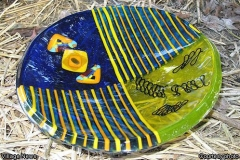 Gayle Bamber - fused glass